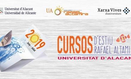 Finalizan los Cursos de Verano Rafael Altamira de la UA con tres últimas propuestas