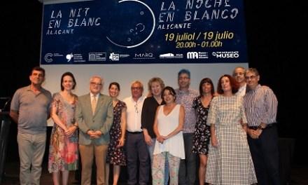 La Noche en Blanco revoluciona culturalmente Alicante este viernes hasta la 1 de la madrugada