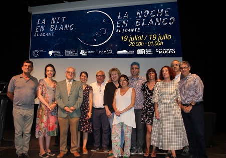 La Nit en Blanc revoluciona culturalment Alacant aquest divendres fins a la 1 de la matinada