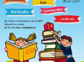 """Lectura y diversión el mes de agosto en la """"Biblioteca de Tirisiti"""" de Alcoy"""