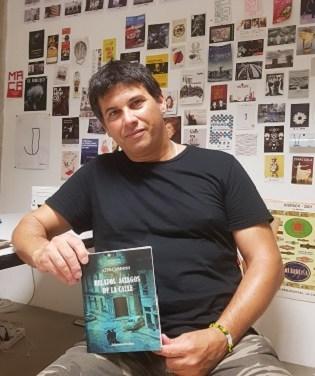 Alex Cardoso, un forjador de relatos de género negro cuyo motor son los recuerdos y la música