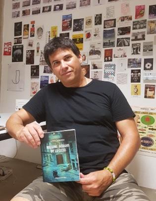 Alex Cardoso, un forjador de relats de gènere negre on el motor són els records i la música