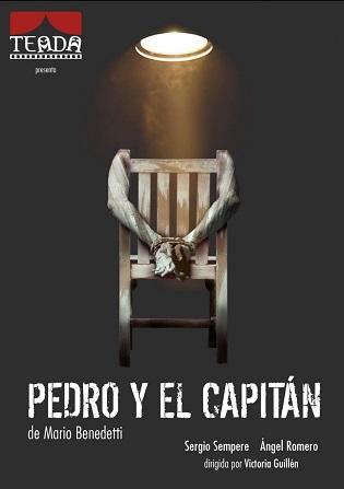 Llega este sábado a la Villa Romana de l'Albir la obra 'Pedro y el capitán' de Mario Benedetti