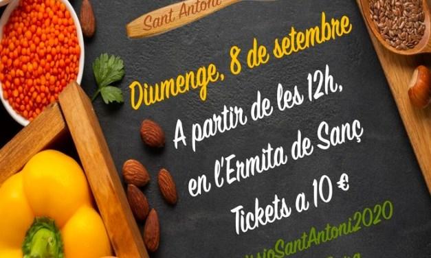 El 8 de septiembre la Comisión de Sant Antoni celebra la Mostra Menjars de la Terra en Benidorm