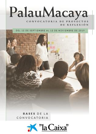 La CAIXA obri al setembre la 5a convocatòria de projectes de reflexió del Palau Macaya sobre desenvolupament humà i sostenibilitat