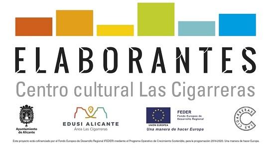 En marcha ELABORANTES, un programa de formación para los y las agentes de la cultura en Alicante