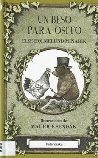 """Un bes per a osset"" (A Kiss for Little Bear) il·lustrat per Maurice Sendak"