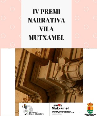 Convocatoria de la IV Edición del Premio de Narrativa Vila de Mutxamel