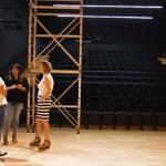 El Auditorio de San Bartolomé estrenará telón motorizado esta próxima temporada