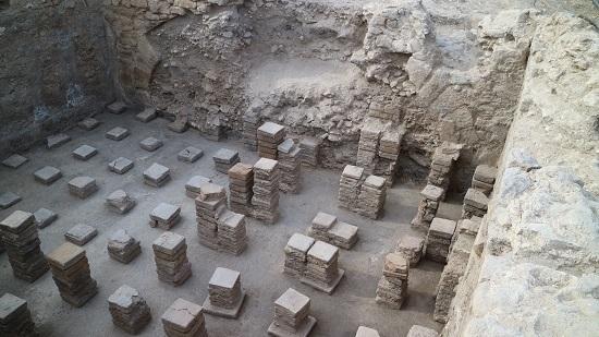 Investigadores de la Universidad de Alicante descubren nuevos hallazgos del complejo termal del yacimiento de la Alcudia
