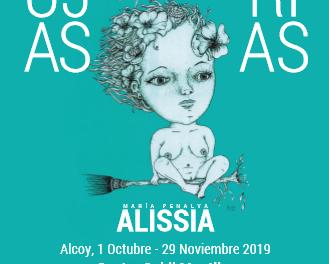 La exposición Brujas y Furias de la artista alcoyana Alissia, (María Penalva): ¿Por qué no es todo el año Contra la Violencia de Género?