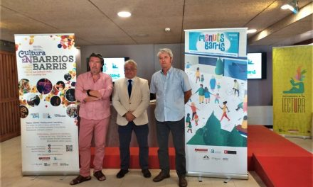 La Regidoria de Cultura d'Alacant presenta la programació de Cultura en barris amb un centenar d'activitats fins a gener de 2020