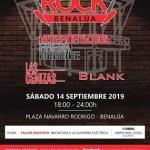 Todo a punto para el primer Benalúa Rock este sábado 14 de septiembre