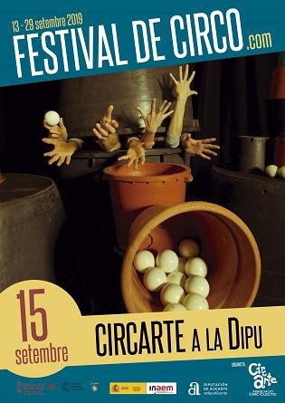 La Diputación acoge este domingo en los jardines del Palacio Provincial el Festival Cicarte