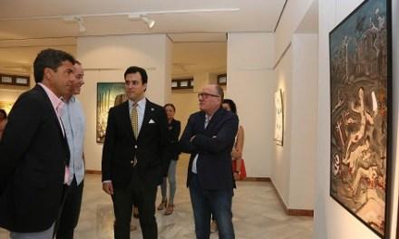 La Diputació d'Alacant uneix en l'exposició 'Muses: Rússia i Alacant' a artistes alacantins i russos