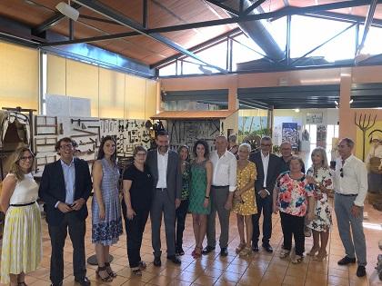 Jornadas de puertas abiertas del Museo Escolar de Pusol de Elche para inaugurar su nueva sala de exposiciones