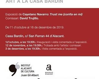 El cicle 'Art a la Casa Bardín' conclou la seua segona edició amb una exposició fotogràfica de Cayetano Navarro