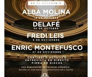 """""""Momentos Alhambra en el Escenario"""" regresa al Teatro Principal de Alicante en octubre"""