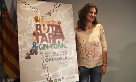 Turismo abre el plazo de inscripción para participar en la VII Ruta de la Tapa y el Gin-Tonic de Orihuela