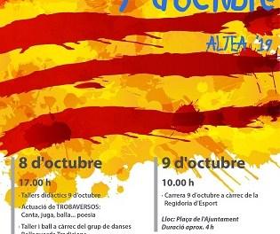 La tradicional cursa, danses, música i poesia centren les activitats del 9 d'Octubre a Altea