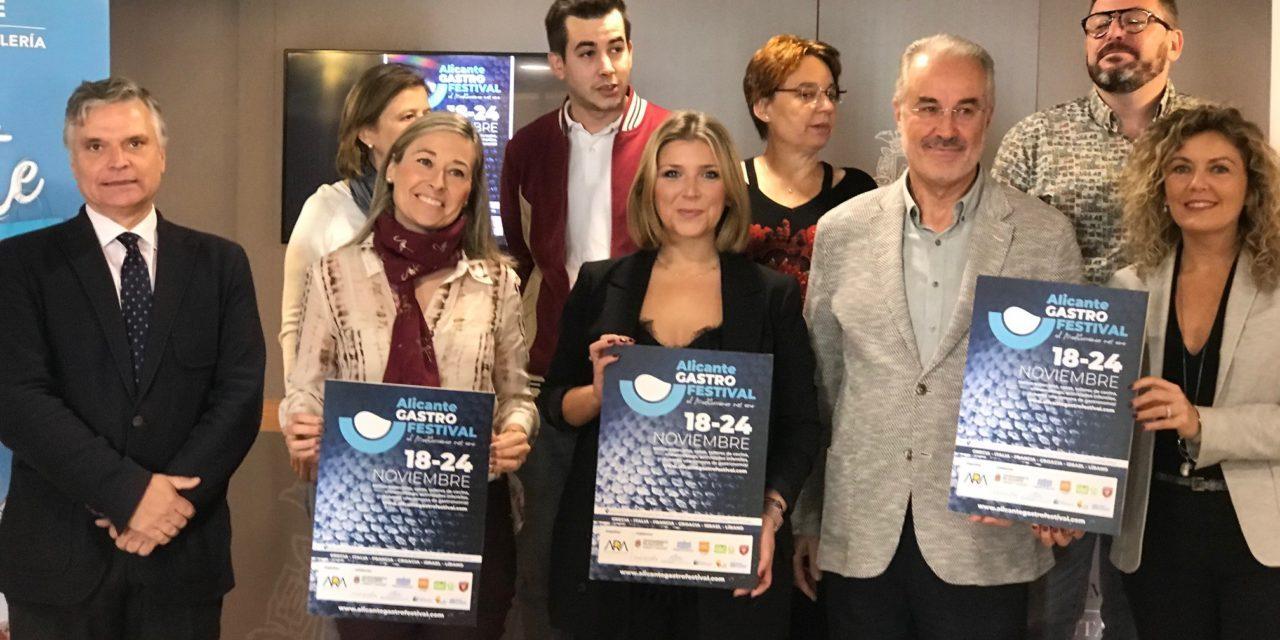 La I edición del 'Alicante Gastro Festival' sitúa a la ciudad en el epicentro de la gastronomía mediterránea en noviembre