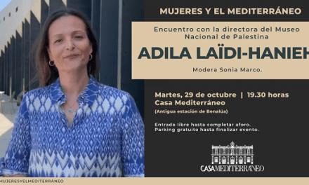 Adila Laïdi-Hanieh, directora del Museo Palestino, en Casa Mediterráneo
