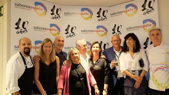 El 10é aniversari de Saborea España reuneix a Madrid als 20 destinacions gastronòmiques que conformen la plataforma