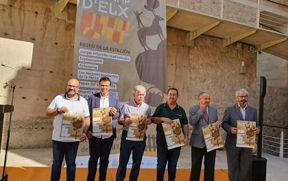 Novena edició de la Fireta del Camp d'Elx en el qual participen més de 50 expositors