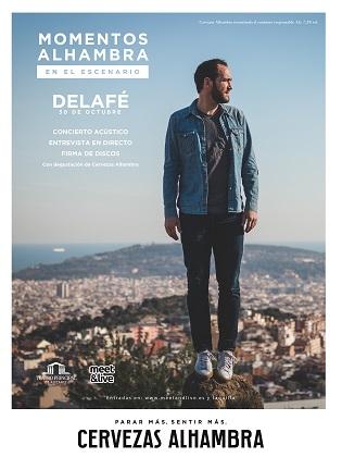 "Delafé presenta el seu nou disc ""Hay un lugar"" en el Teatre Principal d'Alacant dins del cicle ""Momentos Alhambra en l'Escenari"""