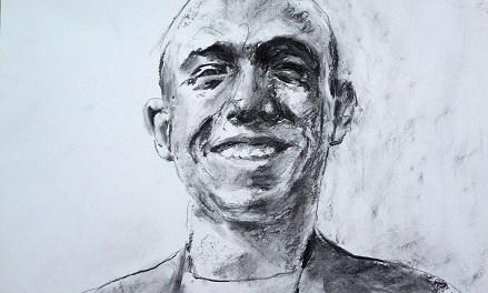 Santiago Ydáñez, premi de Pintura BMW 2018, exposa «75 curiositats de Miguel Hernández» a la Seu Ciutat d'Alacant