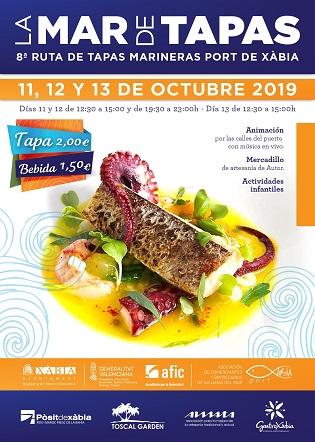 """Xàbia presume de cocina marinera con la 8ª ruta gastronómica """"La Mar de Tapas»"""