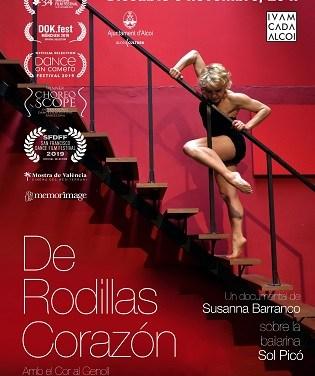 """SOL PICÓ presenta su documental """"De rodillas corazón"""" en Alcoy"""