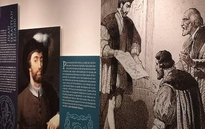 """La Concejalía de Cultura de Alicante y la Subdelegación de Defensa inauguran la exposición """"El viaje a la especiería de Magallanes y Elcano"""""""