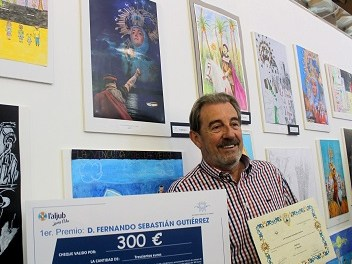 Fernando Sebastián gana el VI Certamen de Cartel institucional de la Venida de la Virgen de Elche
