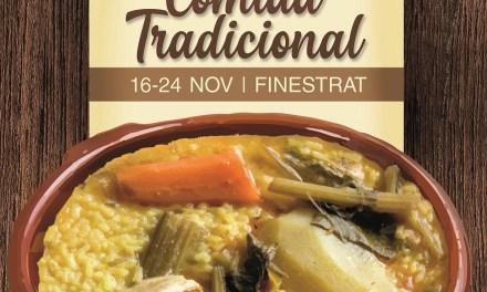 Finestrat celebra unes noves Jornades Gastronòmiques dedicades a la cuina més tradicional des del 16 al 24 de noviembre