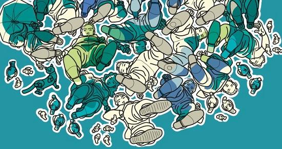 Tras dos décadas como dibujante de Disney, Manuel Galdón expone sus «Conversaciones invisibles» en el MUA