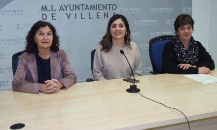 Concentració sorollosa a Villena pel Dia Internacional de l'Eliminació de les Violències Contra les Dones