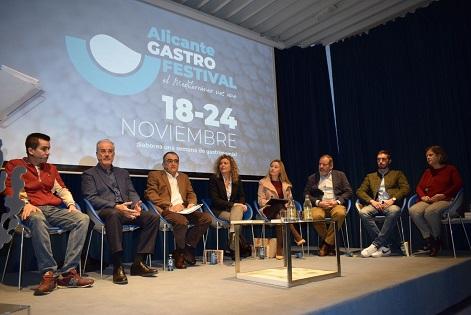 El valor del Mediterráneo en la gastronomía abre la primera edición de Alicante Gastro Festival en Casa Mediterráneo
