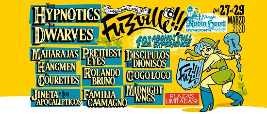 BLACK LIPS, MAN OR ASTRE-MAN? i THE LORDS OF ALTAMONT lideren les noves confirmacions de la sisena edició del Festival Fuzzville!!!