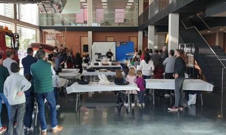 Més de mig centenar de famílies cuinen al parc de Bombers del SPEIS un tradicional 'Caldo amb pilotes'