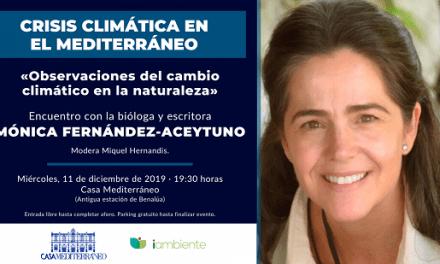 Mónica Fernández-Aceytuno obri les trobades de veus contra la crisi climàtica a Casa Mediterráneo