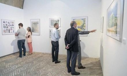 Últims dies per a visitar al Castell de Santa Bàrbara l'exposició DibujandRo.»Mirades des de la meua tauleta»