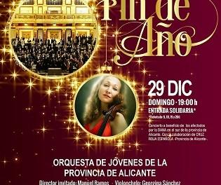 Concierto de Fin de Año de la Orquesta de Jóvenes de la Provincia de Alicante en La Nucía