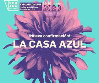 La Casa Azul, nova i brillant segona confirmació per a Spring Festival 2020