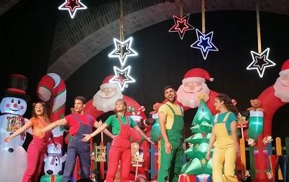 """""""Ven a mi fiesta de Navidad"""" amb els Puzzle Kids al Teatre Chapí de Villena."""