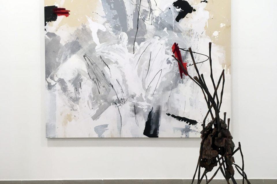 Exposición Two me two: diálogos de los artistas Hans Some y Perceval Graells