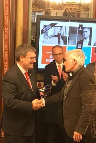 El professor de la Universitat d'Alacant Raúl Rodríguez guanyador del XX Premi d'Assaig Miguel de Unamuno