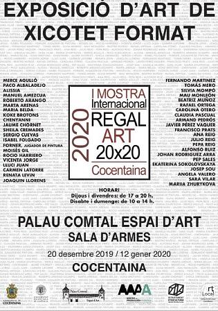 Exposición de Arte en pequeño formato en Cocentaina este fin de semana
