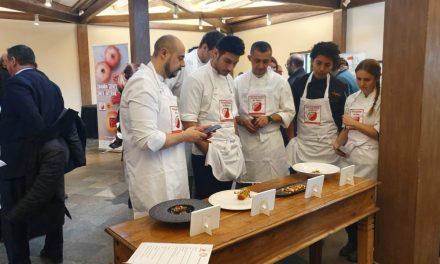Adrián Abril, guanyador deI IX Concurs de Cuina Creativa amb Granada Mollar