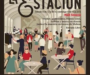 Mahou llena de cultura, música y gastronomía Alicante en el Hall Séneca en la primera edición de 'La Estación'